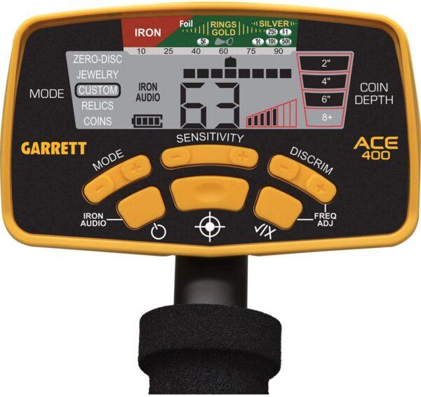 detector garrett ace 400 6